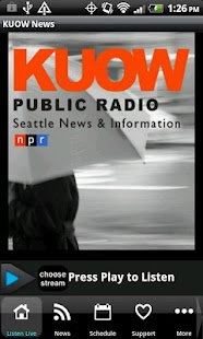 94.9 KUOW Public Radio Seattle - screenshot thumbnail