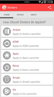 Stickers (Apex Go Nova) - screenshot thumbnail