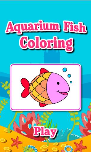 Coloring Game-Aquarium Fish