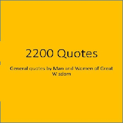 2200 General Quotes