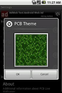 PCB Live Wallpaper - screenshot thumbnail