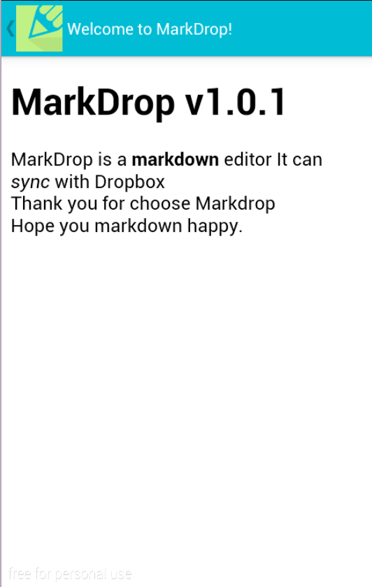 MarkDrop- screenshot