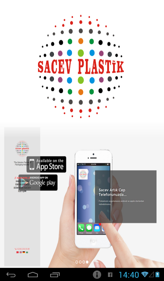 Sacev Plastik- screenshot