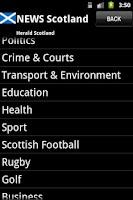 Screenshot of News Scotland