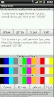 Screenshot of Virtual Voice