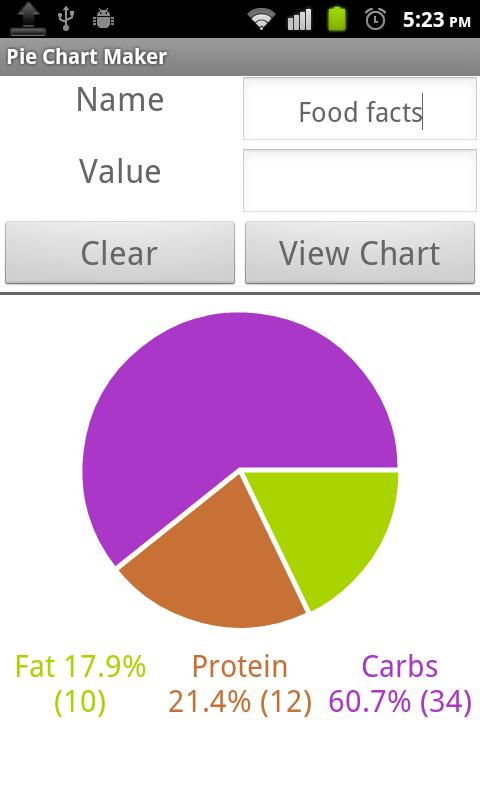 Pie Chart Maker  Android Apps On Google Play