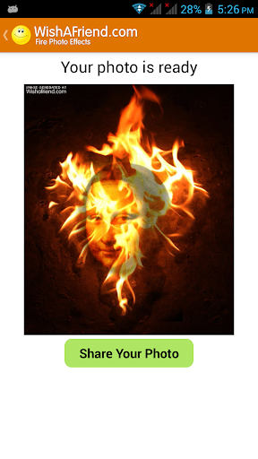 Fire Photo Effects