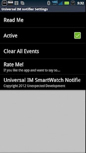 SmartWatch Universal IM - screenshot thumbnail