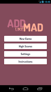 Add Like Mad - The Number Game screenshot