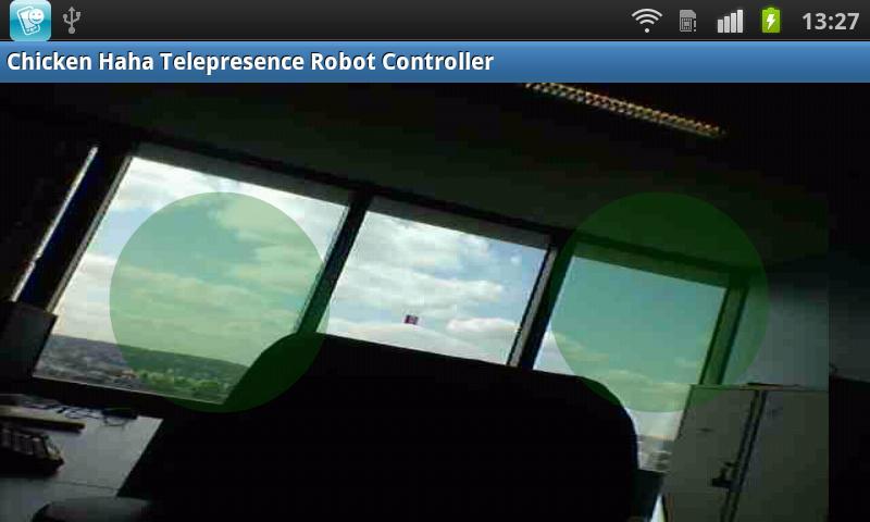 Telepresence DIY Robot Console- screenshot