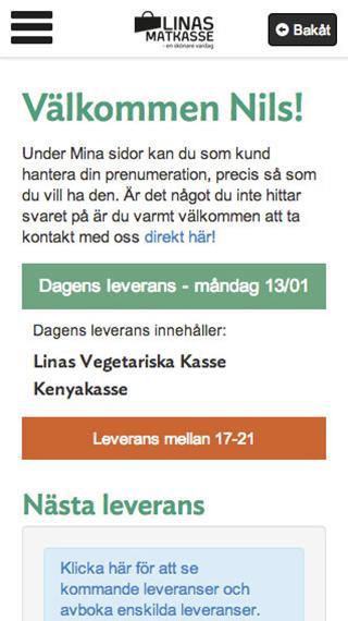 Linas Matkasse- screenshot