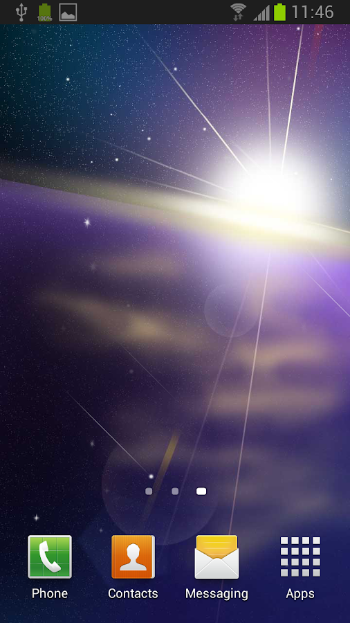 Starlight Live Wallpaper - screenshot