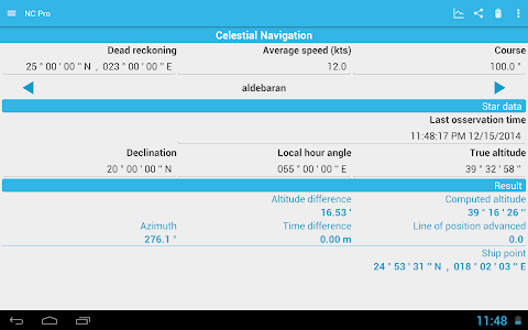 Nautical Calculator Pro v1.2