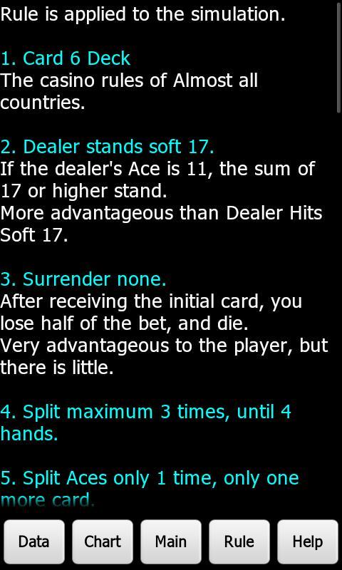 Blackjack push odds