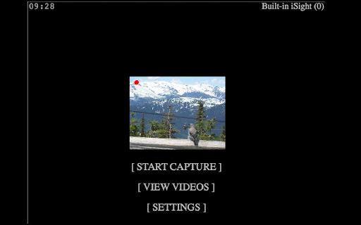 Spy Cam: Silent motion capture