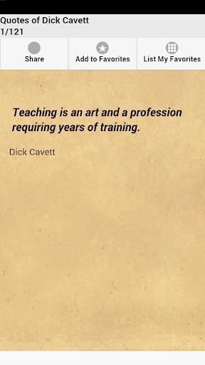 Quotes of Dick Cavett