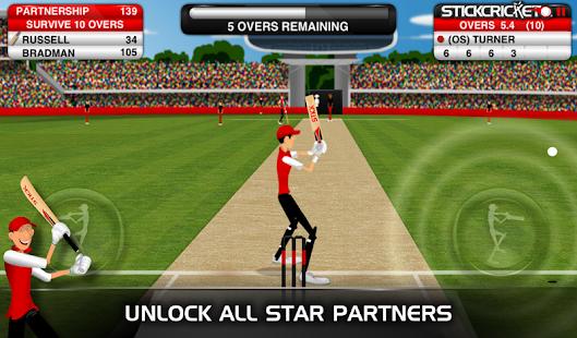 Stick Cricket Partnerships - screenshot thumbnail