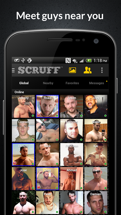 SCRUFF: Gay guys worldwide - screenshot