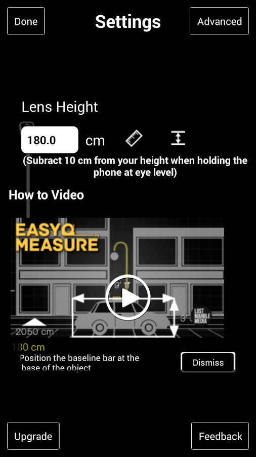 EasyMeasure- screenshot