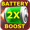 2X Battery Booster Free Prank icon
