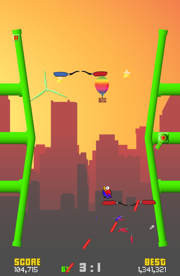 Air Ping Pong- screenshot