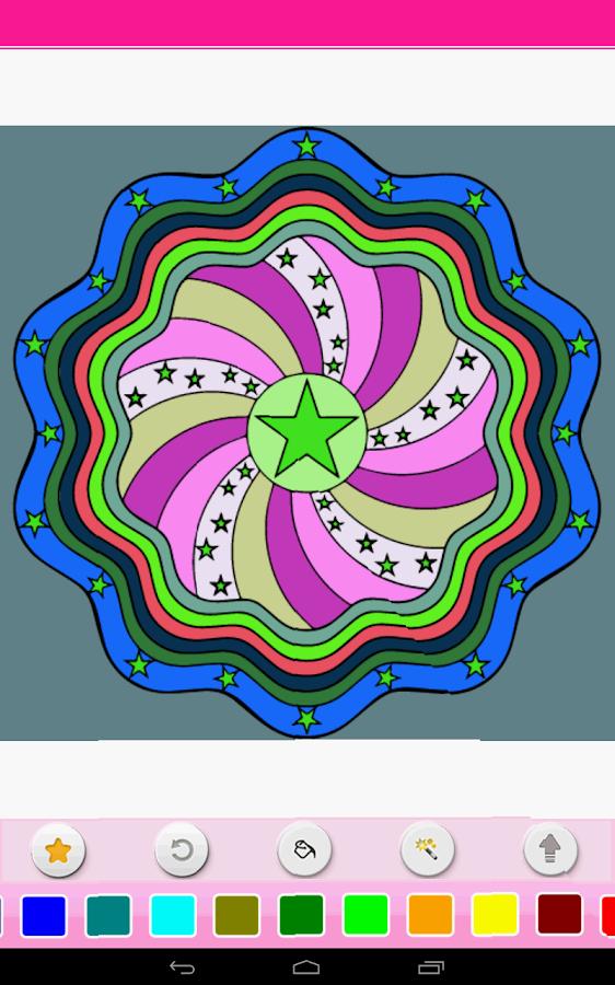 Coloring – Mandala