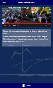 Opera Holland Park- screenshot thumbnail