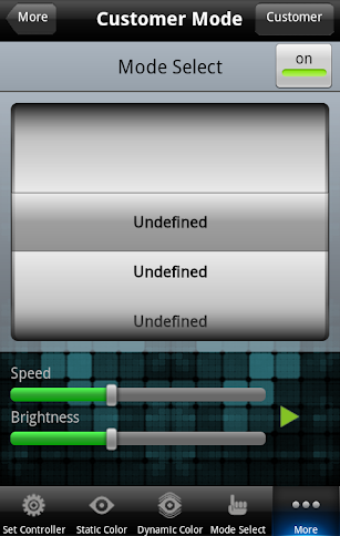 Brilliance PlayLED II screenshot for Android