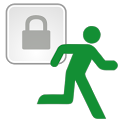 Lock When Gone Free icon