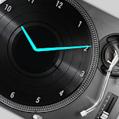 DJ DECK Analog Clock Widget