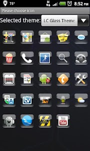 LC Glass Theme Apex/Go/Nova v1.13