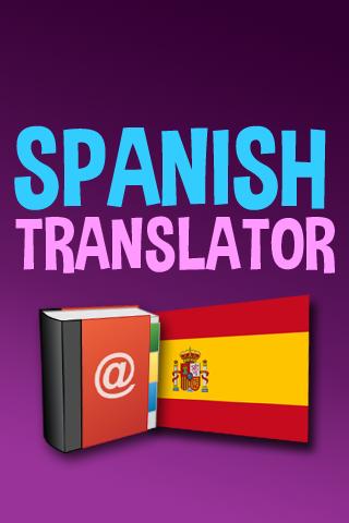 Spanish English Translator App