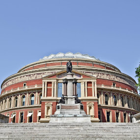 Here is a photograph I took of The Royal Albert Hall.  Located in London, England, UK. by Michael D Beckwith - Buildings & Architecture Other Exteriors