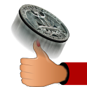 Coin Toss 3D icon