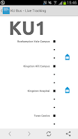 Screenshot of Kingston University