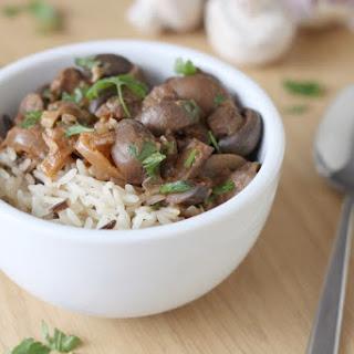 Crock-Pot mushroom stroganoff (giveaway!).