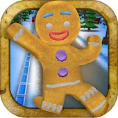 3D Gingerbread Dash Game FREE