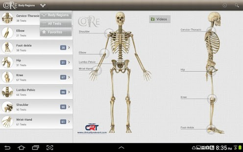 CORE-Clinical Orthopaedic Exam- screenshot thumbnail