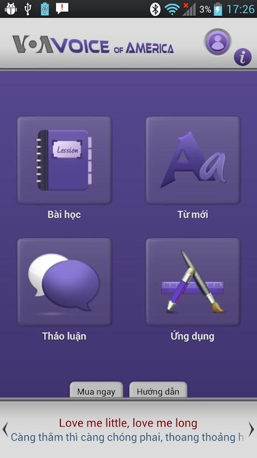 Luyen Nghe Tieng Anh VOA - screenshot