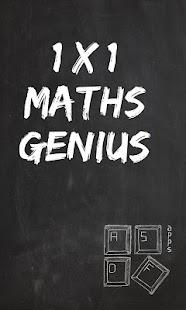 1x1 Maths Genius screenshot