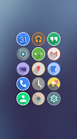 Screenshot of Velur - Icon Pack