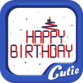 Birthday Theme TextCutie