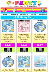 Party Supplies Shop screenshot 5