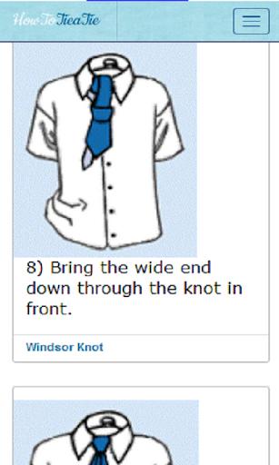 【免費書籍App】Tie a Tie-APP點子