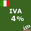 Iva al 4% logo