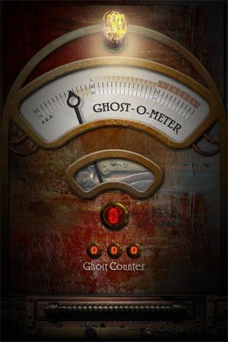 Ghost-O-Meter - screenshot