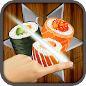 FREE Ninja Sushi Swipe Game icon