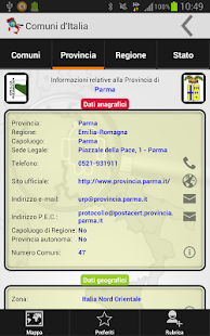 Comuni d'Italia - screenshot thumbnail