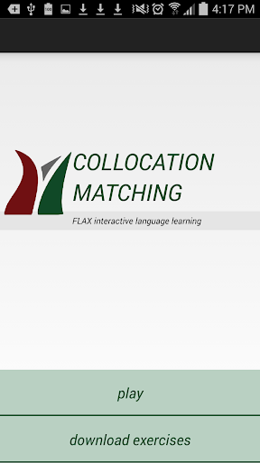 FLAX Collocation Matching