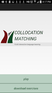 FLAX Collocation Matching - náhled